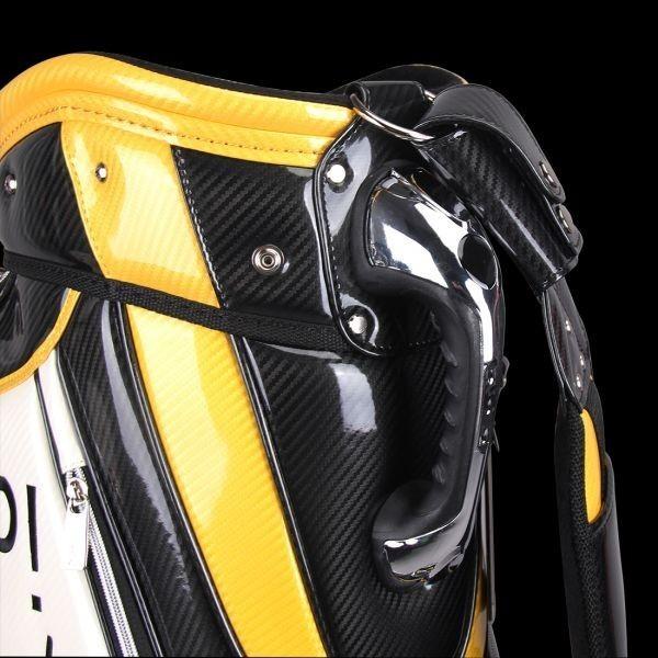 個性的!!刺繍入り GUIOTE ゴルフ キャディバッグ caddie bag  ゴルフバッグ golf bag Cheers GU-10_画像9