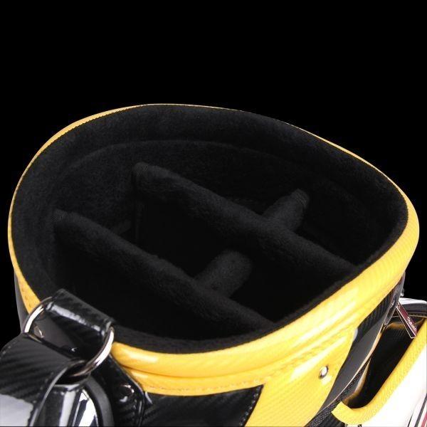 個性的!!刺繍入り GUIOTE ゴルフ キャディバッグ caddie bag  ゴルフバッグ golf bag Cheers GU-10_画像8