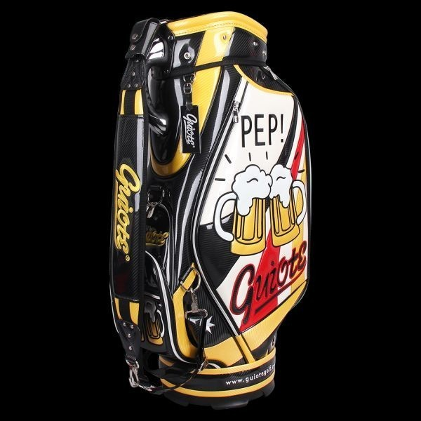 個性的!!刺繍入り GUIOTE ゴルフ キャディバッグ caddie bag  ゴルフバッグ golf bag Cheers GU-10_画像3