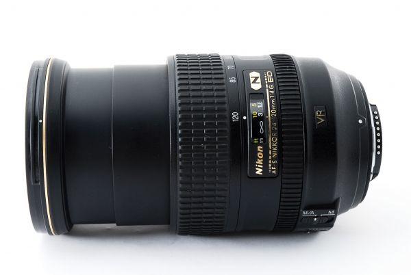 ★美品 NIKON ニコン AF-S NIKKOR 24-120mm F4 G ED VR 付属品付き #436946-431_画像7