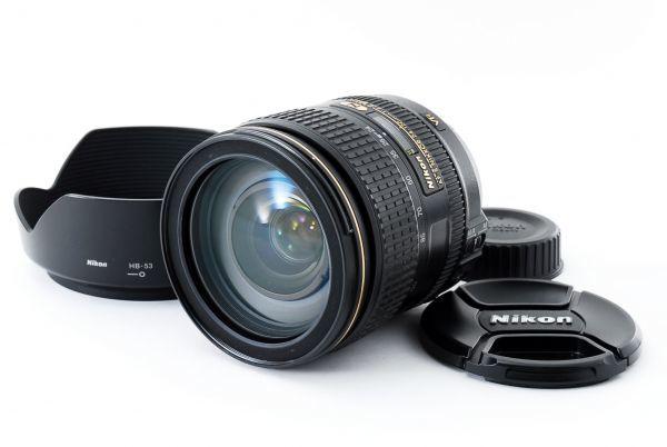 ★美品 NIKON ニコン AF-S NIKKOR 24-120mm F4 G ED VR 付属品付き #436946-431