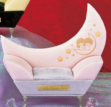 リトルツインスターズ トゥインクルソファー型ジュエリーボックス ピンク 送料無料