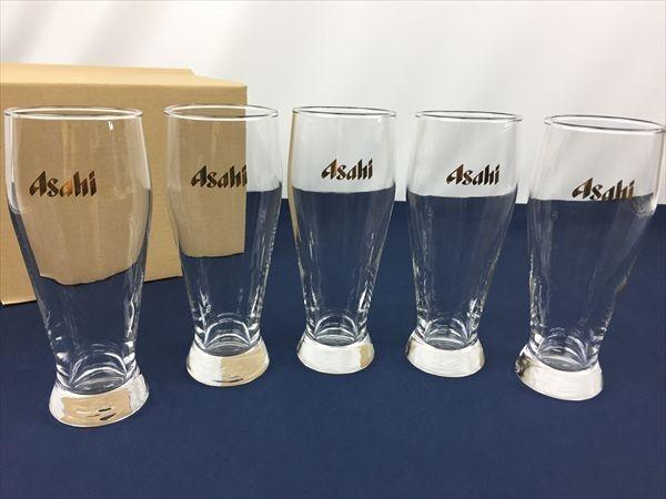 a-180 アサヒビール ビールグラス タンブラー グラス ビアグラス 5客