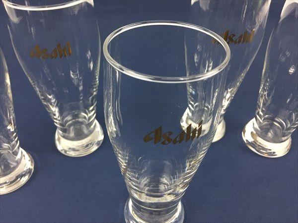 a-180 アサヒビール ビールグラス タンブラー グラス ビアグラス 5客_画像3