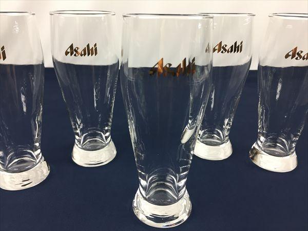 a-180 アサヒビール ビールグラス タンブラー グラス ビアグラス 5客_画像2