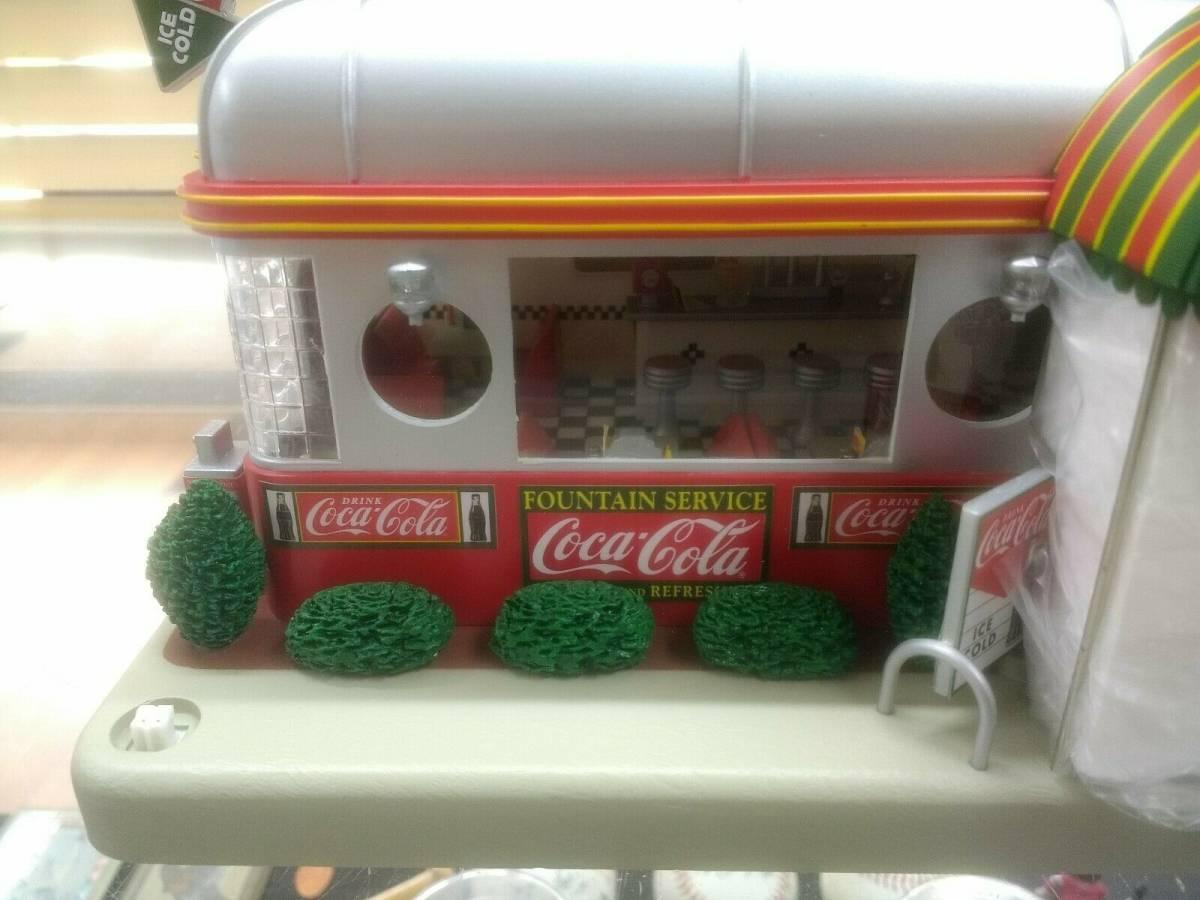 Coca-Cola コカ・コーラ ダイナークロック 時計 看板 希少品_画像3
