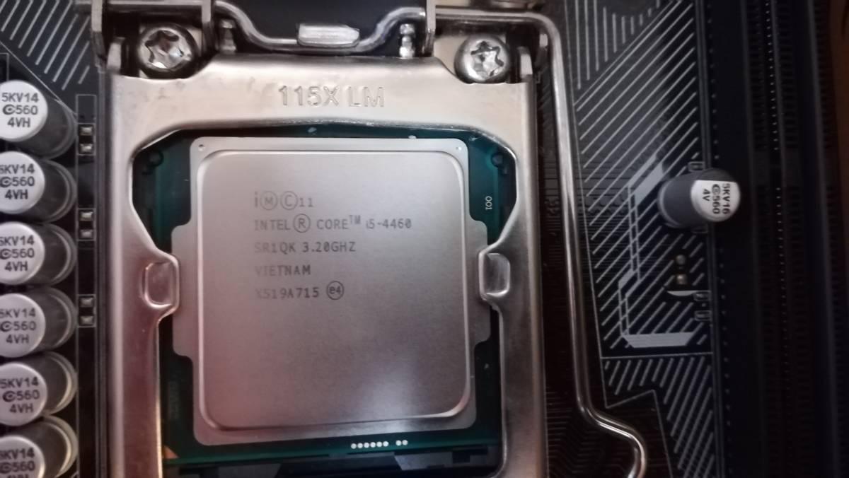 ASUS マザーボード H97 CPU メモリ 付き 実働品_画像2