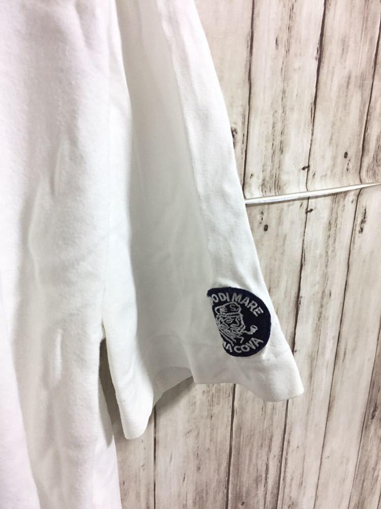 シナコバ SINA COVA Tシャツ メンズサイズLL マリン LUPO DI MARE メンテ済み 紳士