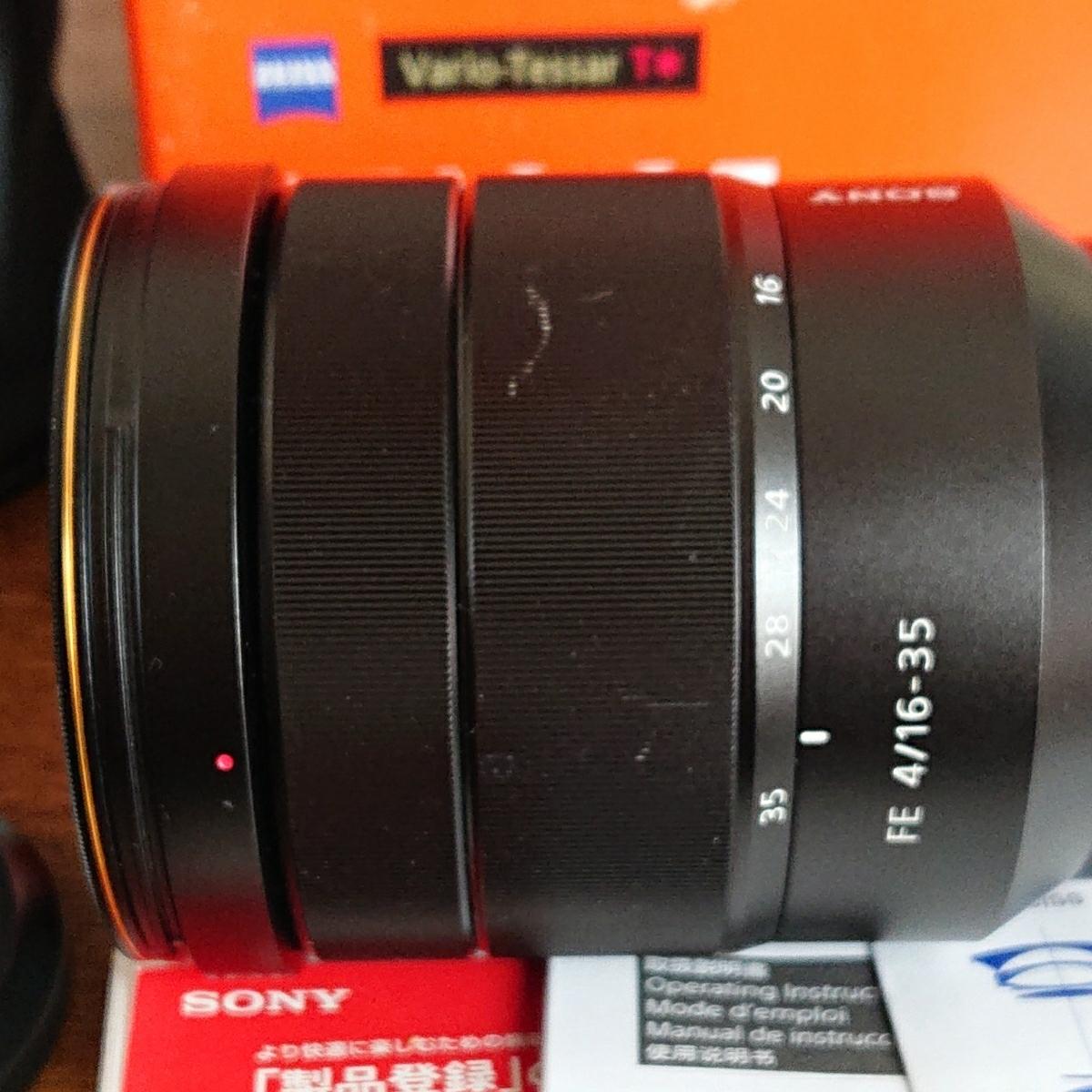 SONY FE16-35mmF4 ZA OSS Vario-Tessar T* SEL1635Z_画像4