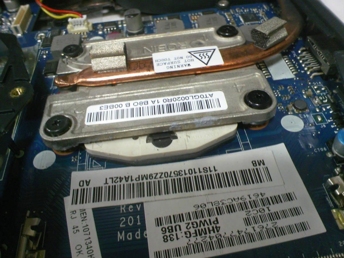 ★ Lenovo/ G570 4334●インテル Core i5 2430M 2.40GHz/2コア マザーボード付き 下半身_画像9