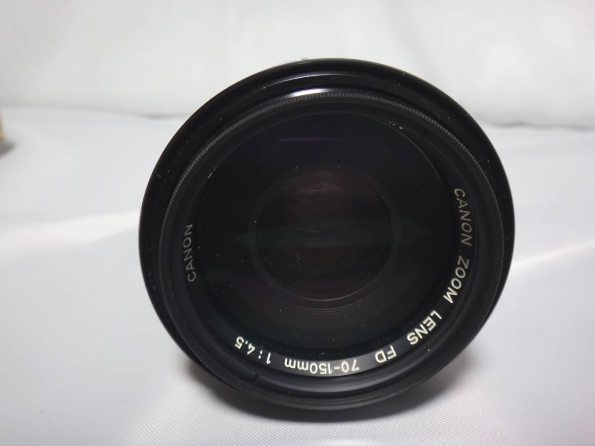 Canon A-1 FD 70-150/4.5 Zoom キャノン カメラ レンズ_画像7