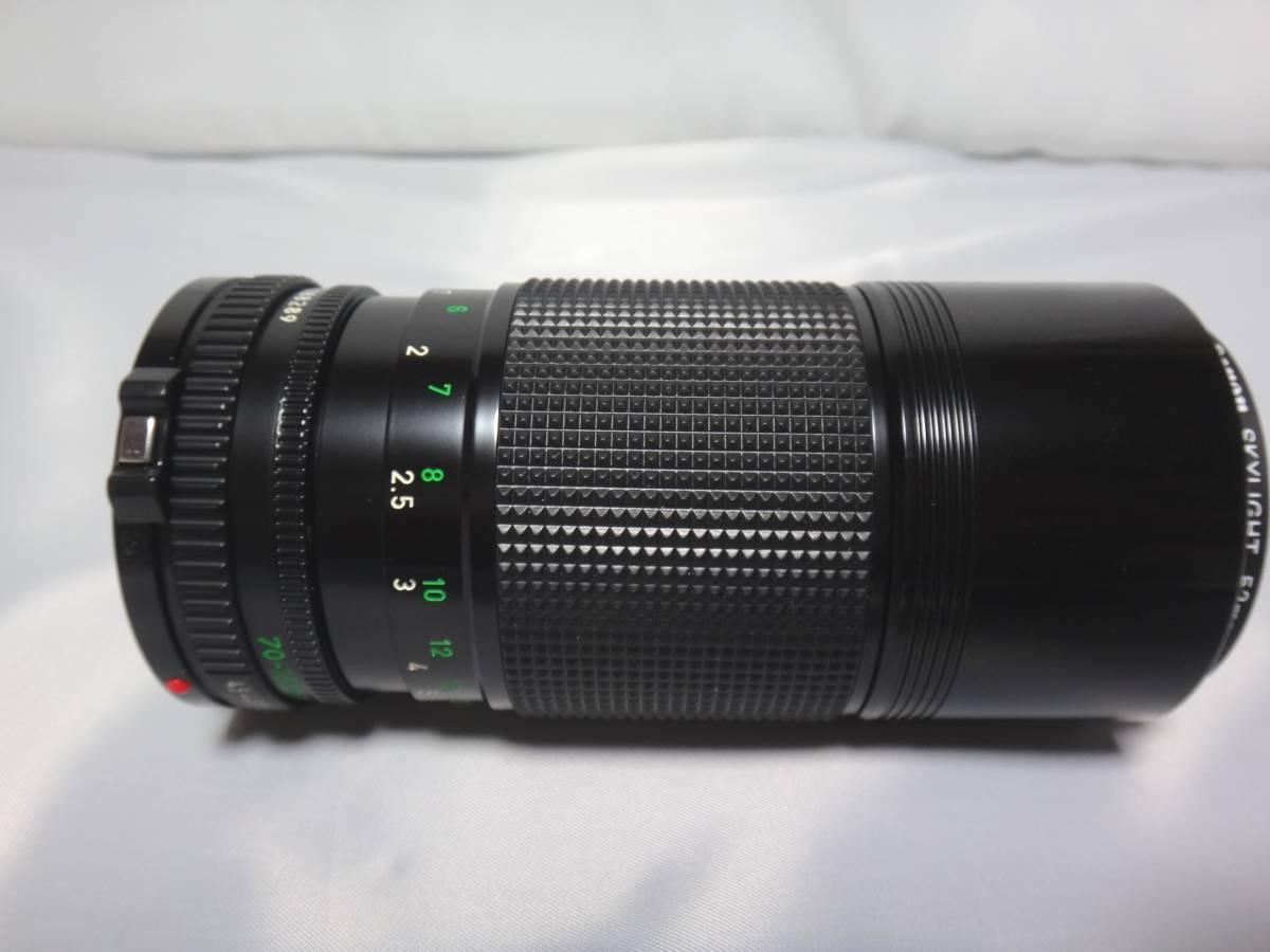 Canon A-1 FD 70-150/4.5 Zoom キャノン カメラ レンズ_画像9