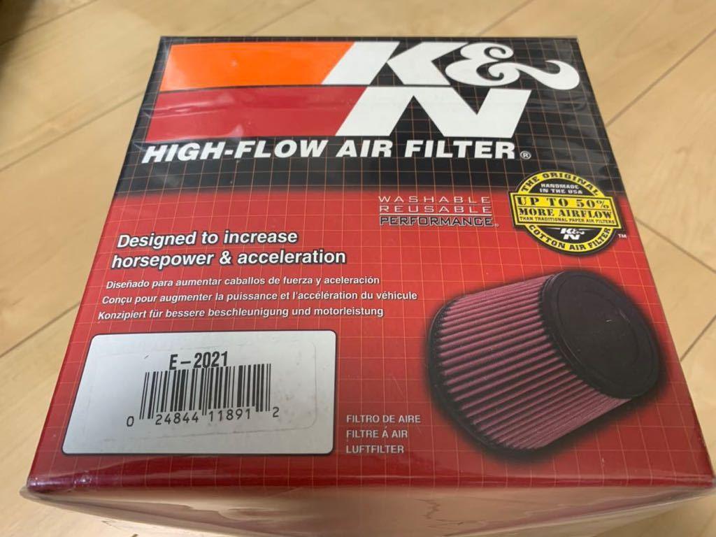 【新品未使用】K&N エアフィルター E82/E87/E88/E90/E91/E92/E93 型番:E-2021 N43B20/N45/N46等