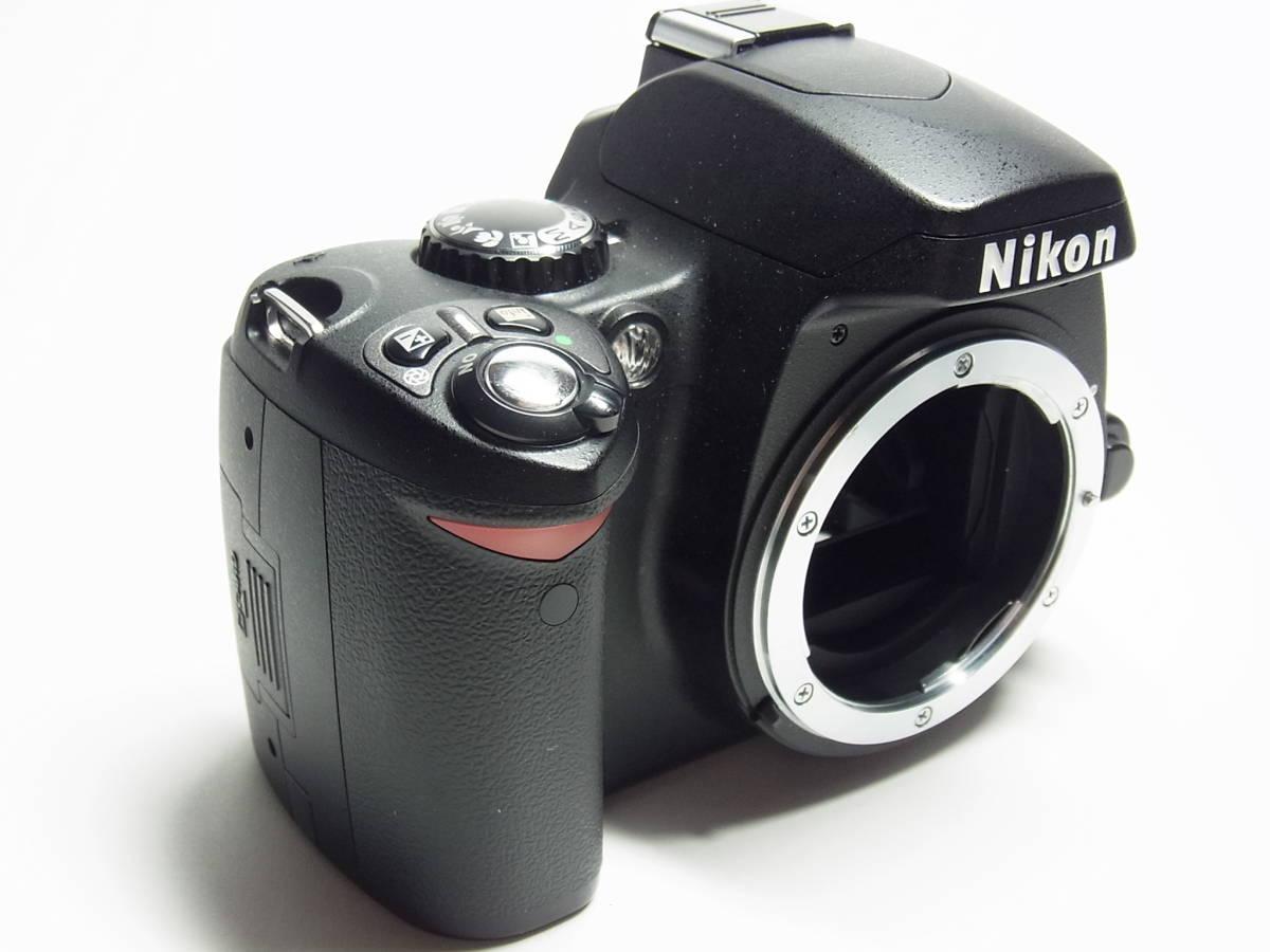 作動品 超美品 少ショット Nikon D40X ボディ 純正 バッテリー 充電器 ストラップ ニコン デジタル 一眼_画像4