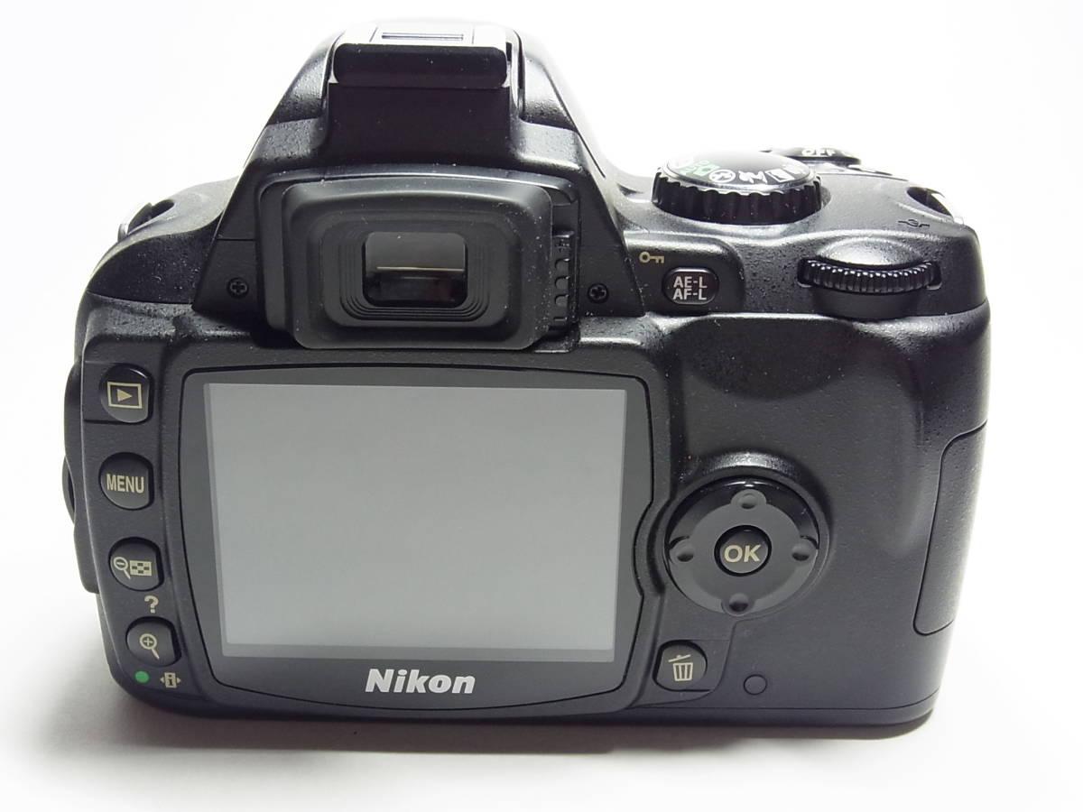 作動品 超美品 少ショット Nikon D40X ボディ 純正 バッテリー 充電器 ストラップ ニコン デジタル 一眼_画像5