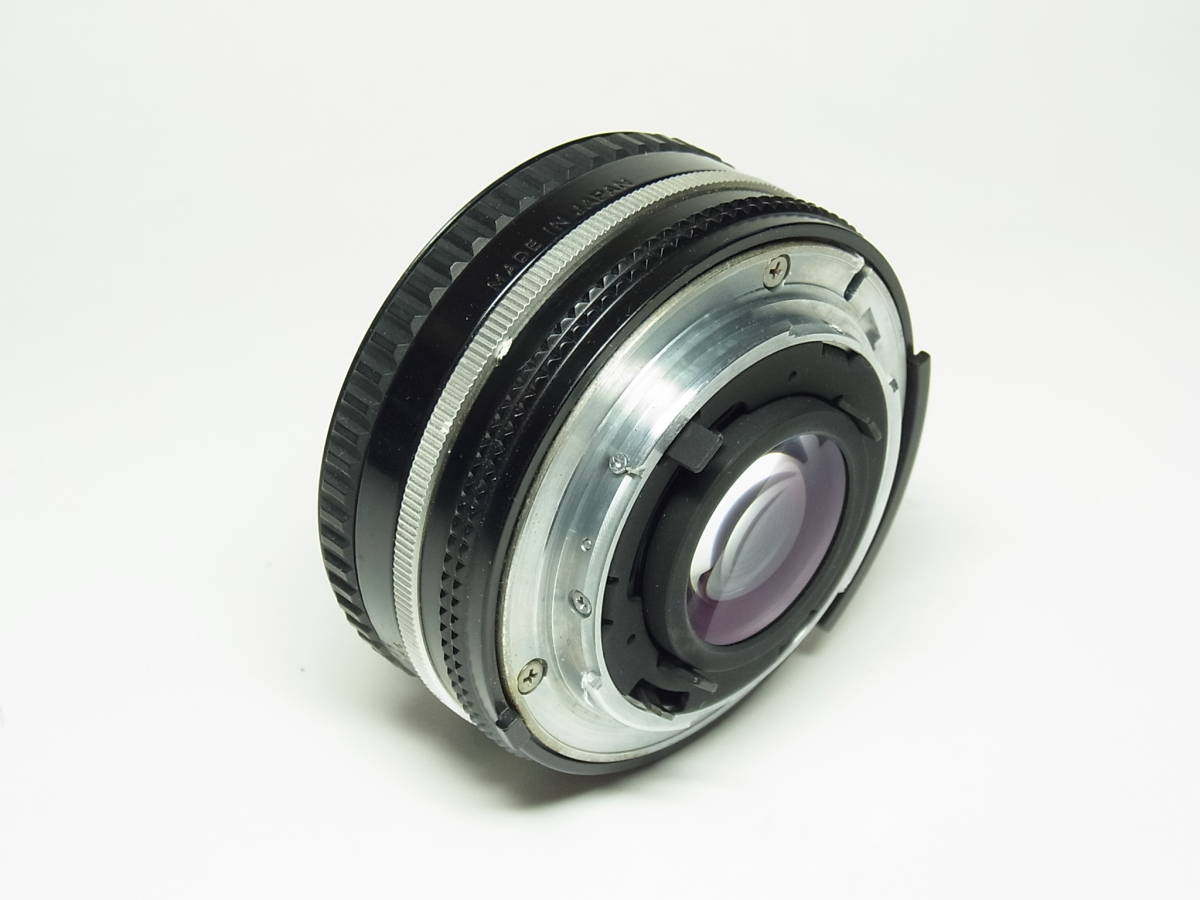 NIKKOR 50mm F1.8 (1:1.8) Ai-s 単焦点 レンズ パンケーキ レンズ ニッコール Nikon ニコン_画像4