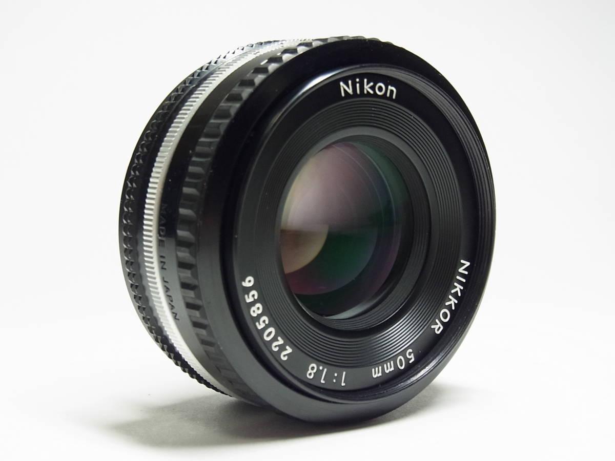 NIKKOR 50mm F1.8 (1:1.8) Ai-s 単焦点 レンズ パンケーキ レンズ ニッコール Nikon ニコン