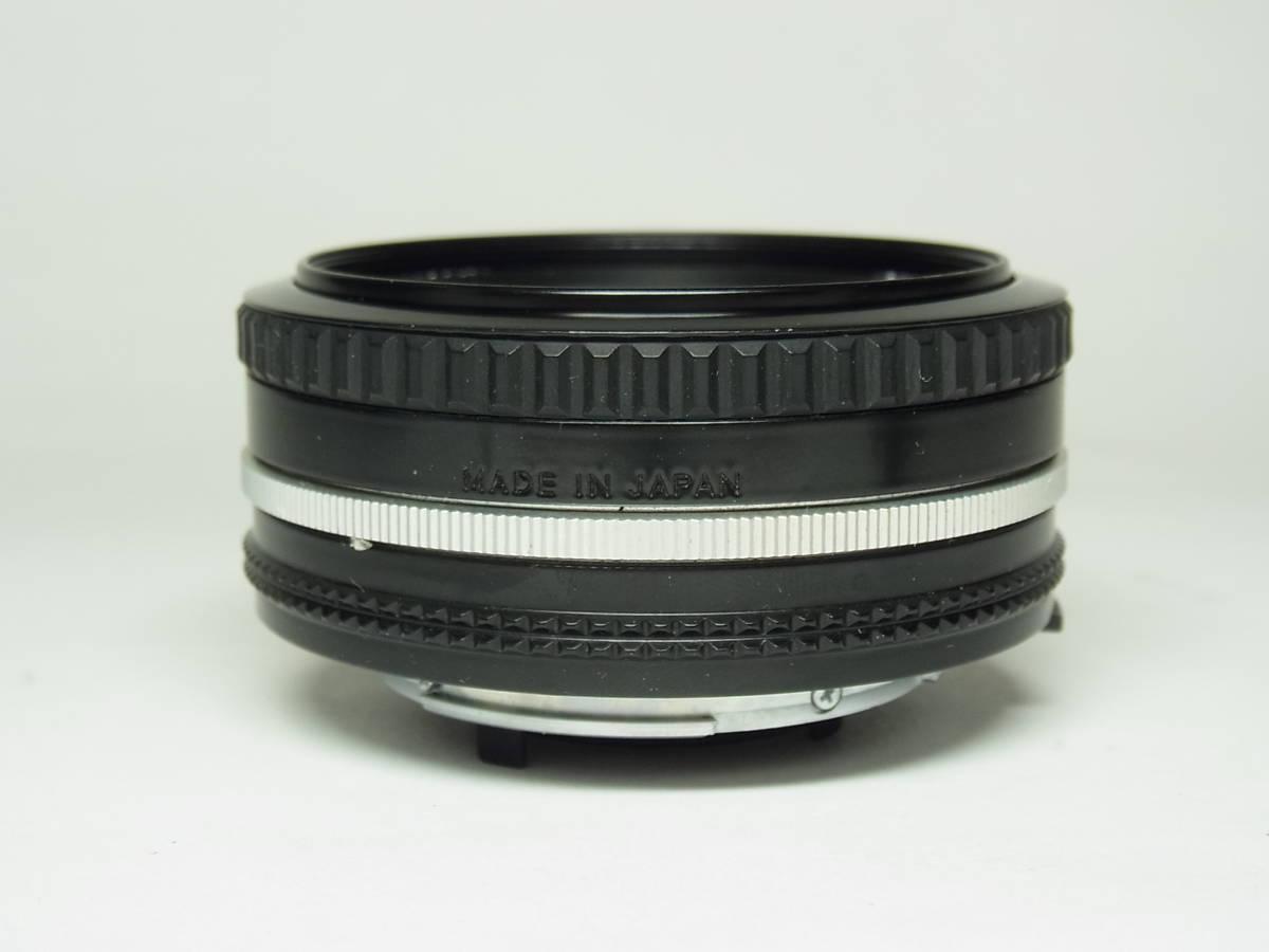 NIKKOR 50mm F1.8 (1:1.8) Ai-s 単焦点 レンズ パンケーキ レンズ ニッコール Nikon ニコン_画像3
