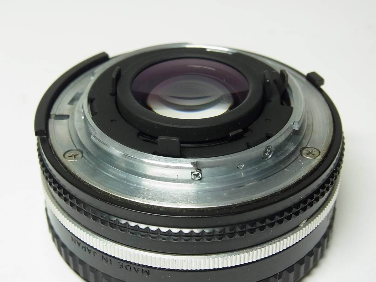 NIKKOR 50mm F1.8 (1:1.8) Ai-s 単焦点 レンズ パンケーキ レンズ ニッコール Nikon ニコン_画像10