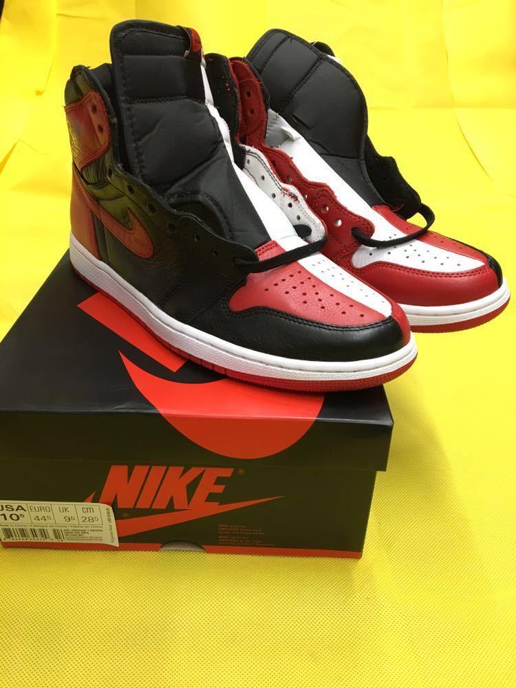 NIKE Air Jordan 1 Retro High OG Homage To Home 28.5cm US10.5 エアジョーダン1 オマージュ トゥ ホーム AJ1 28.5 supreme travis scott_画像4
