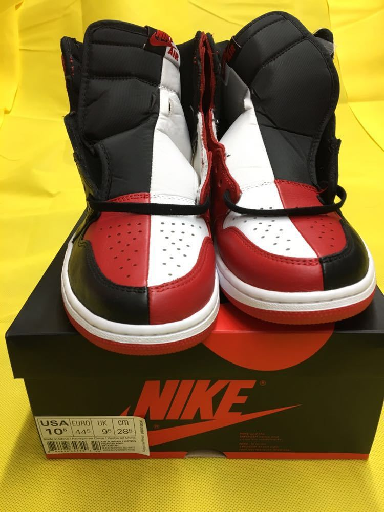 NIKE Air Jordan 1 Retro High OG Homage To Home 28.5cm US10.5 エアジョーダン1 オマージュ トゥ ホーム AJ1 28.5 supreme travis scott_画像6