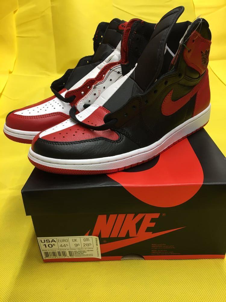 NIKE Air Jordan 1 Retro High OG Homage To Home 28.5cm US10.5 エアジョーダン1 オマージュ トゥ ホーム AJ1 28.5 supreme travis scott_画像5
