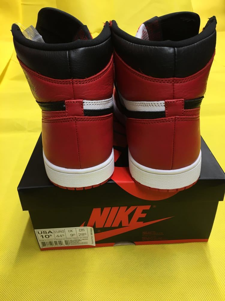 NIKE Air Jordan 1 Retro High OG Homage To Home 28.5cm US10.5 エアジョーダン1 オマージュ トゥ ホーム AJ1 28.5 supreme travis scott_画像7