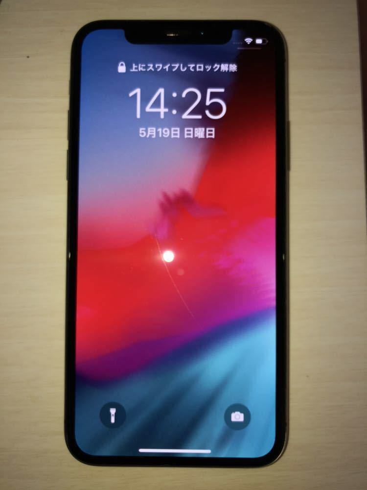 iPhoneX 265GB 傷あり SIM解除済 残債無し_画像5
