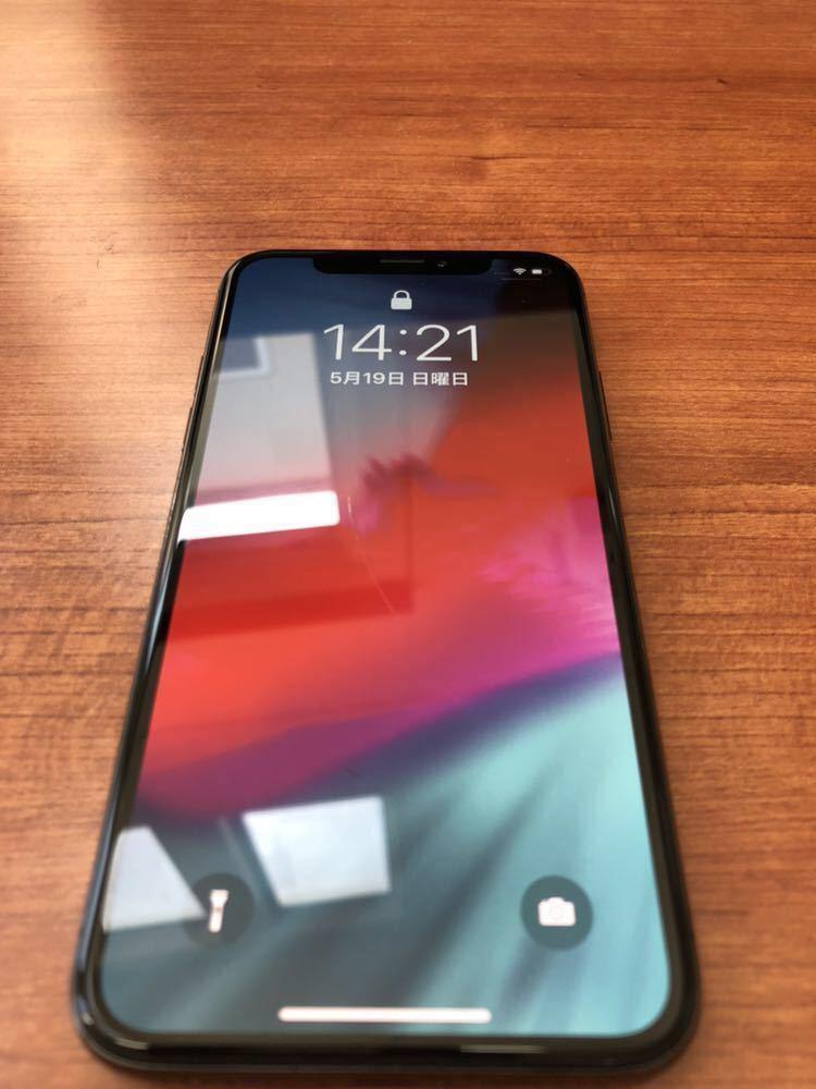 iPhoneX 265GB 傷あり SIM解除済 残債無し