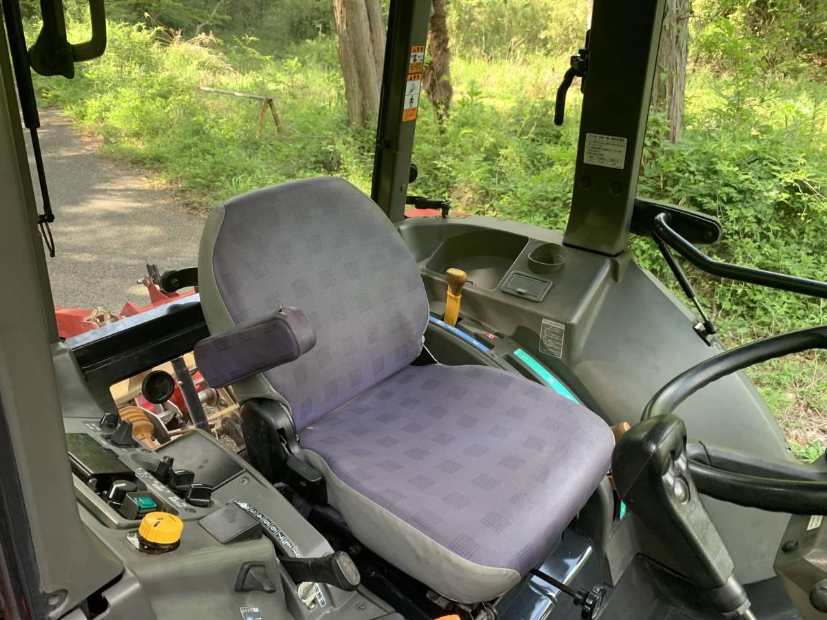 ヤンマーUS601エコトラ エアコンキャビン付き 中古 トラクターです。_画像8