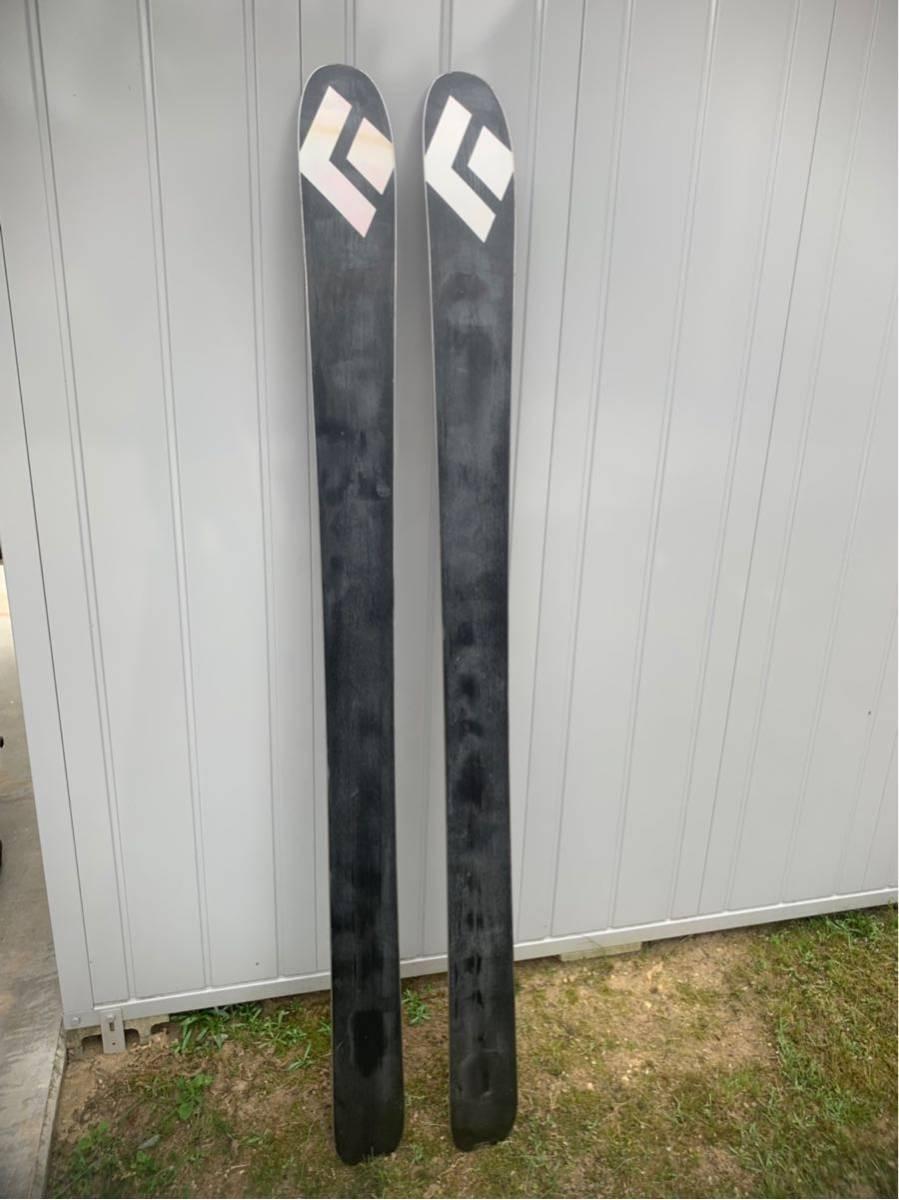 BLACKDIAMOND JUSTICE 175cm センター111mm 大きな傷無し良品要整備 ブラックダイヤモンド テレマーク 山スキー バックカントリー パウダー_画像6