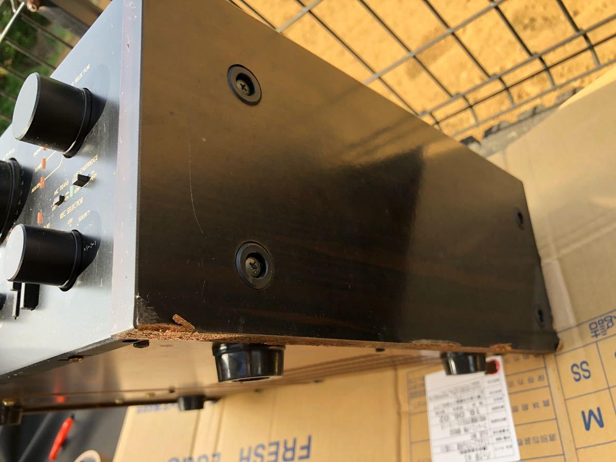 SANSUI アンプ D707Gエクストラ サンスイ 電源投入確認_画像7