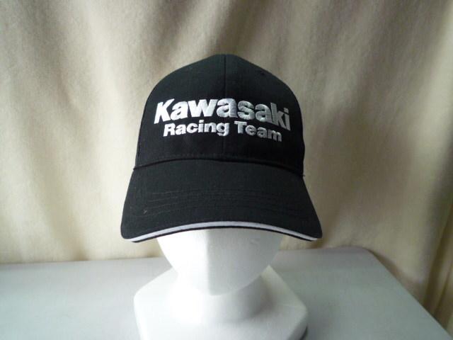 カワサキ 帽子 Kawasaki キャップ カワサキレーシング チーム_画像1