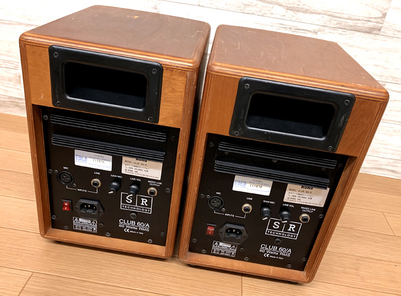 ★SR Technology CLUB 60/A パワードスピーカー SRスピーカー★_画像5