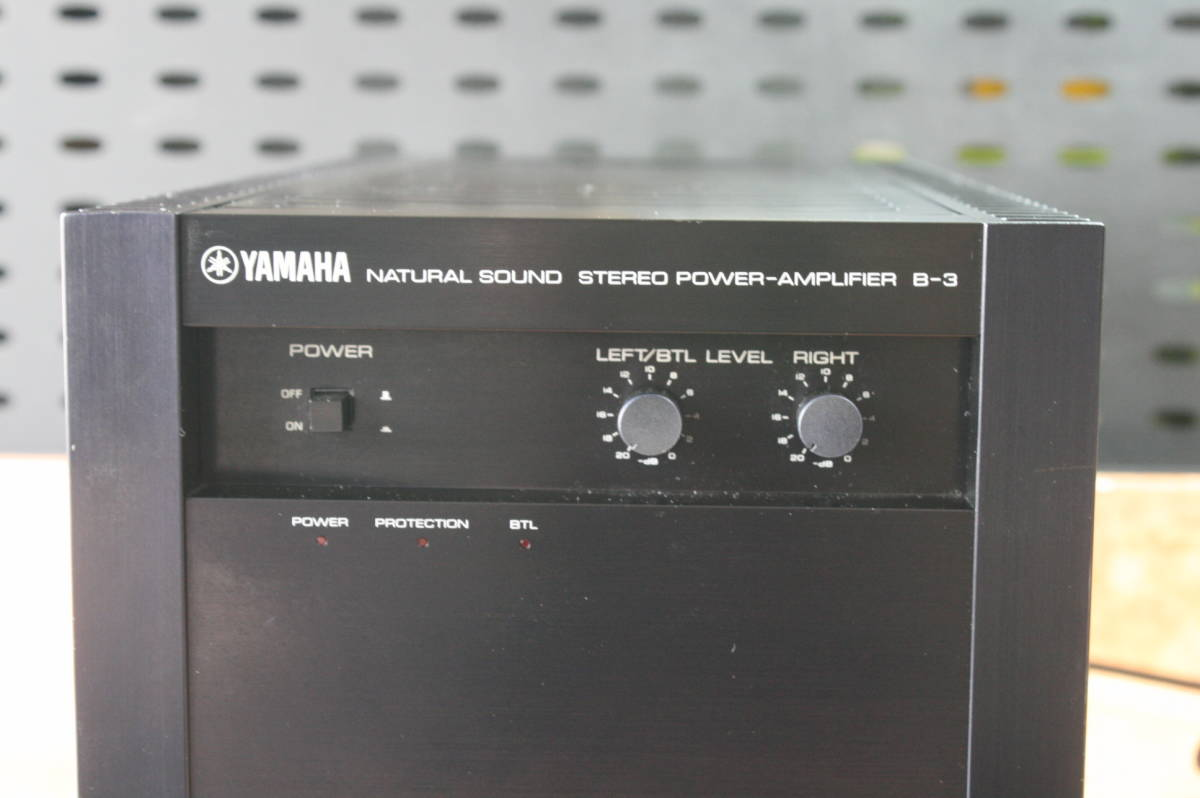 ◆◇YAMAHA B-3 パワーアンプ  オーバーホール品 6ヶ月保証◇◆2019-5-11ⅷ_画像5