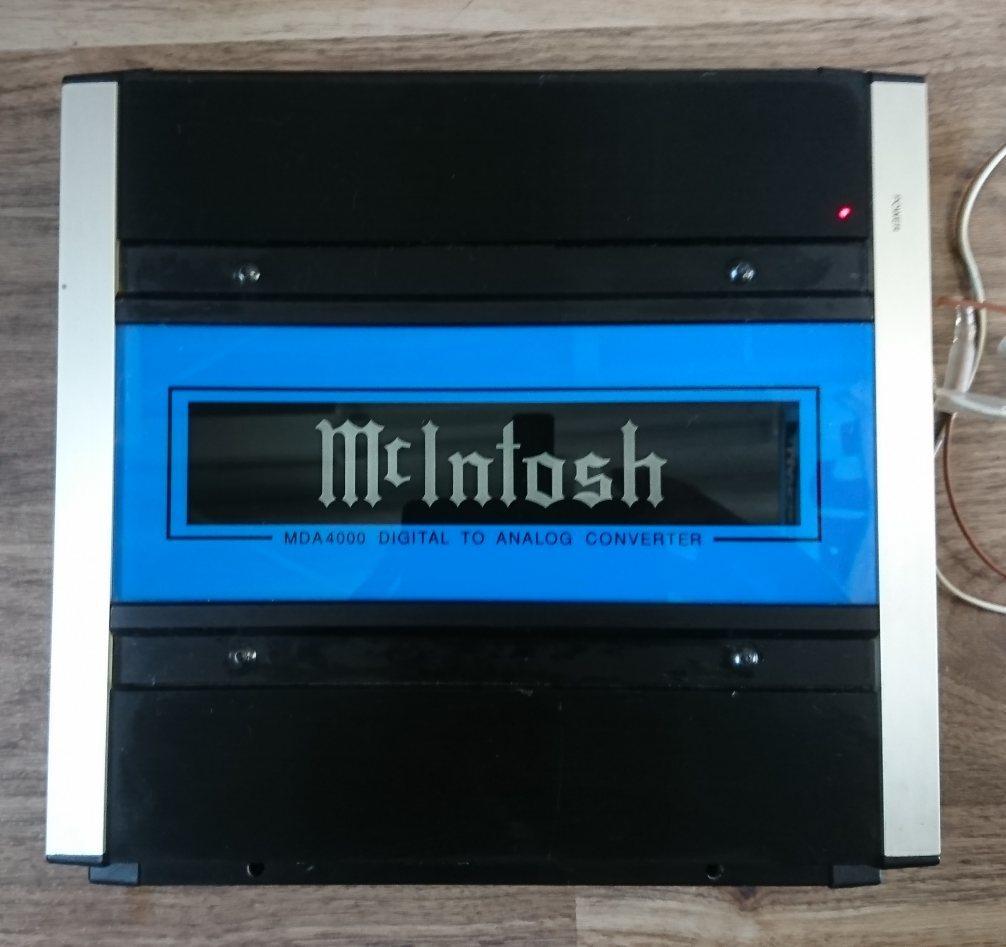 マッキントッシュ MDA4000 デジタル-アナログコンバーター