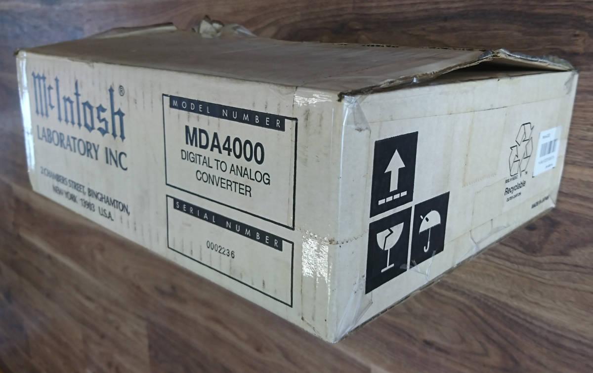 マッキントッシュ MDA4000 デジタル-アナログコンバーター_画像8