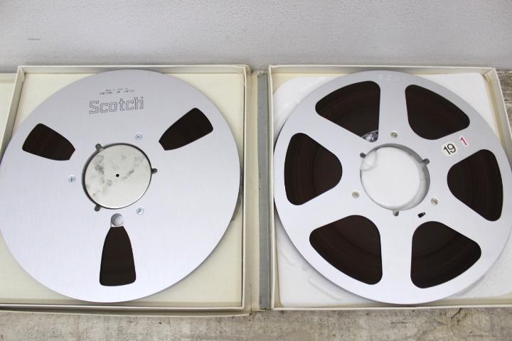 オープンリール 10号 まとめて 11本セット メタルリール SCOTCH MAXELL SONY 未確認 ジャンク品_画像5