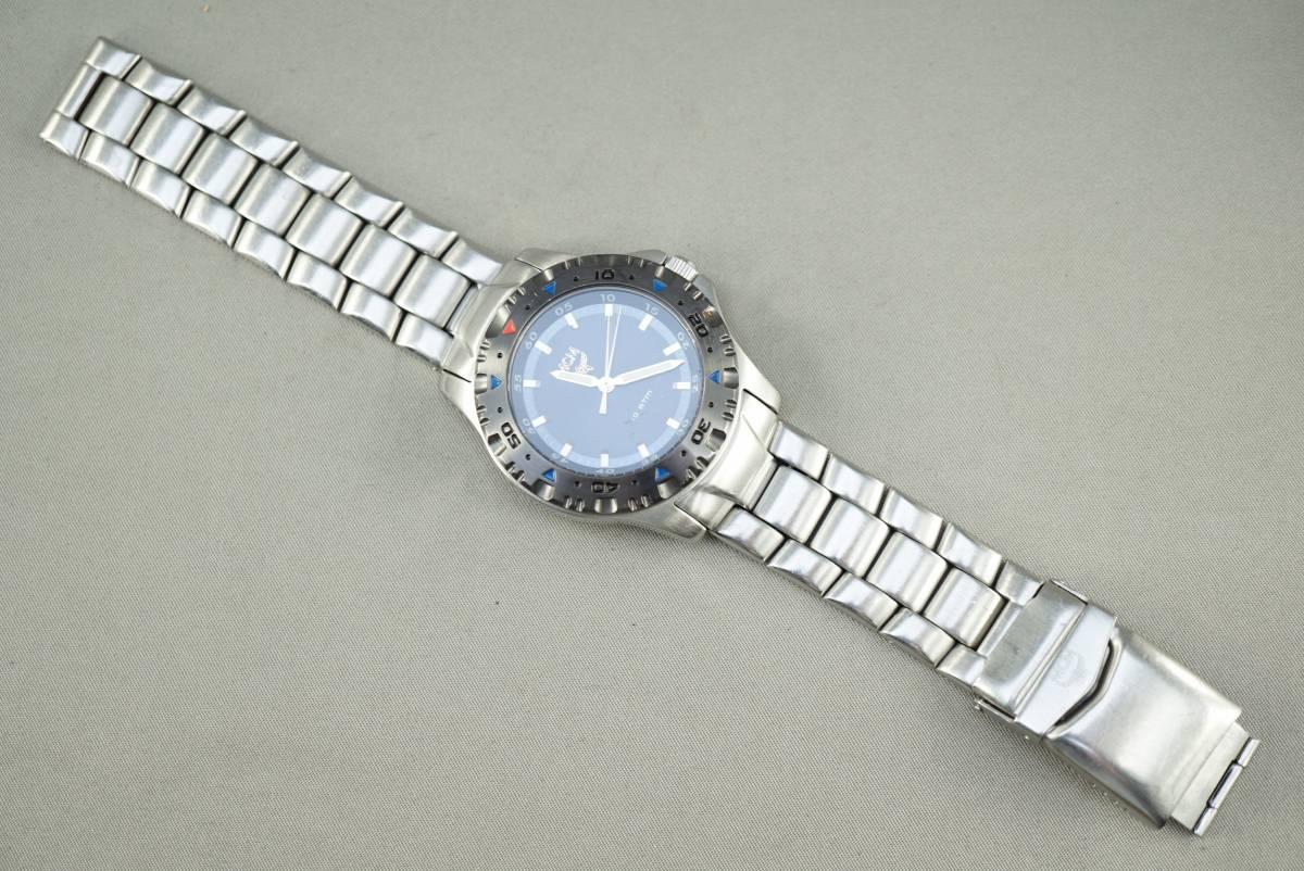 ★MCM MC 2141M クオーツ メンズ腕時計 電池交換済み稼働品★_画像6