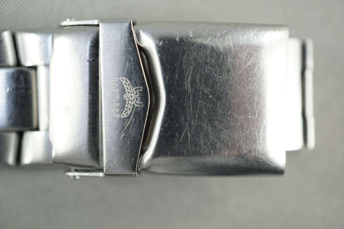 ★MCM MC 2141M クオーツ メンズ腕時計 電池交換済み稼働品★_画像7