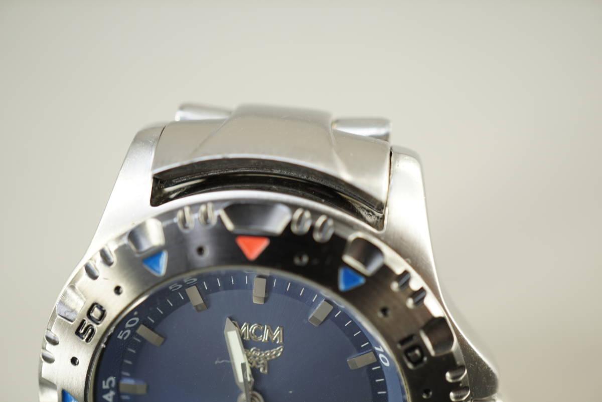 ★MCM MC 2141M クオーツ メンズ腕時計 電池交換済み稼働品★_画像10