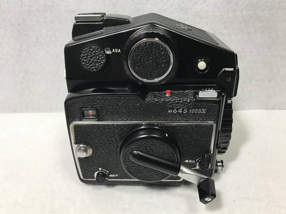 ■ioy0550■マミヤ Mamiya 645 カメラ M645 1000S■レンズ 1:1.9 f=80mm + 1:4 f=150mm■ノーチェックの為ジャンク品■_画像3