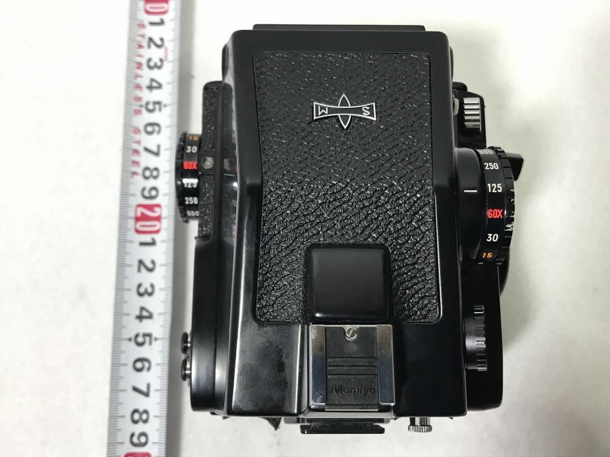 ■ioy0550■マミヤ Mamiya 645 カメラ M645 1000S■レンズ 1:1.9 f=80mm + 1:4 f=150mm■ノーチェックの為ジャンク品■_画像8