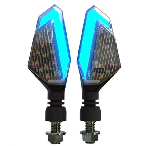 DUCATI ドゥカティ スクランブラー 400 1100 アイコン アーバンエンデューロ 汎用 ポジション機能付き デュアル LEDウインカー 2個1set_画像2