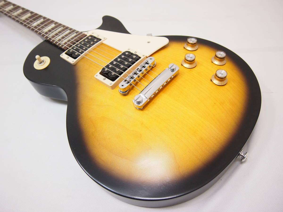Gibson Les Paul 50s Tribute 2016 T Satin Vintage Sunburst 新品未使用_画像2