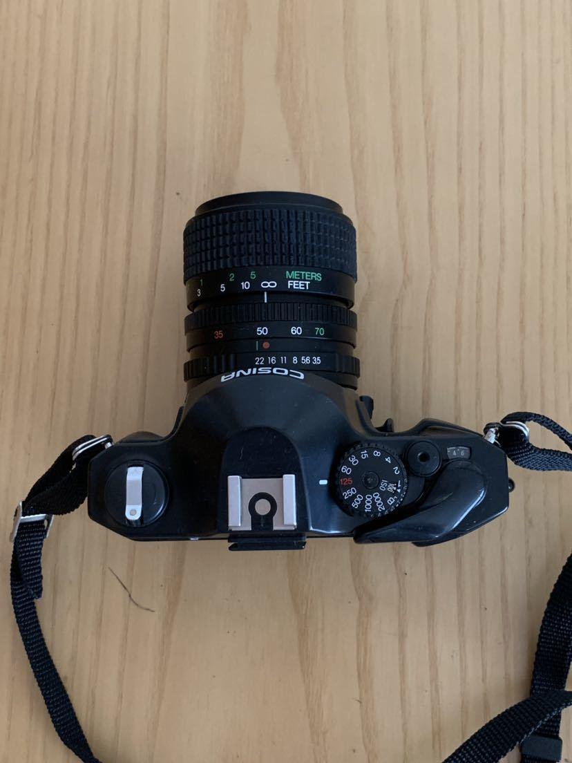 【ジャンク】No、02 COSINA C1S レンズ付きカメラ/COSINA 35-70mm 1:3、5-4、8 MC MACRO、動作未確認現状品_画像4