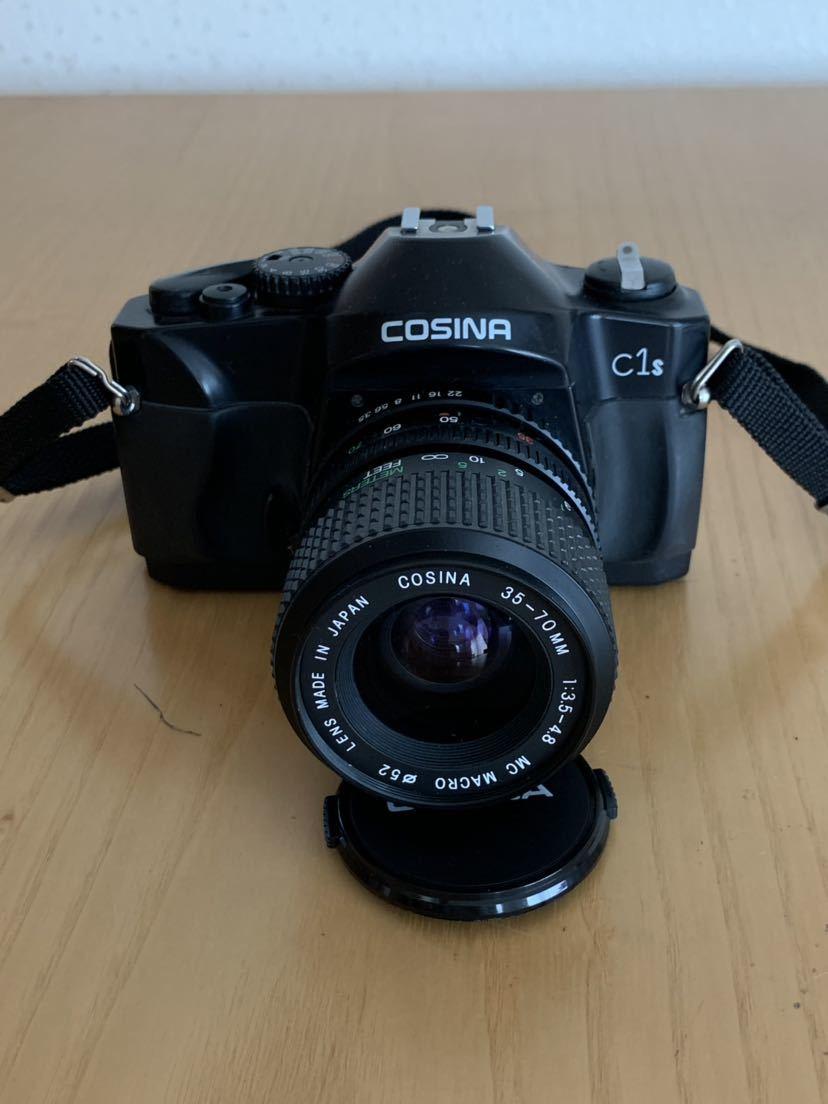 【ジャンク】No、02 COSINA C1S レンズ付きカメラ/COSINA 35-70mm 1:3、5-4、8 MC MACRO、動作未確認現状品_画像3