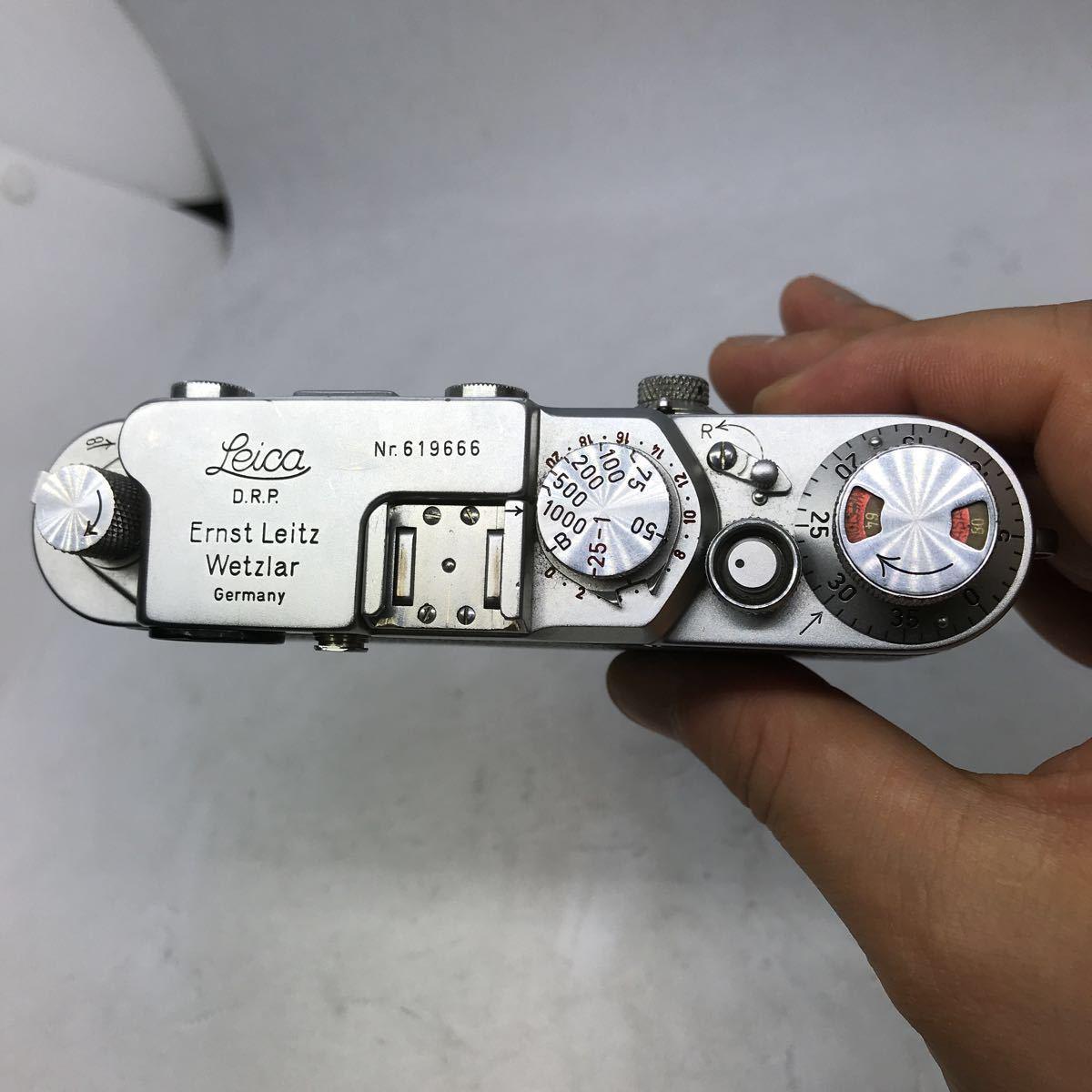 美品 Leica III b, III c, III f ??? ライカ ボディ D.R.P. Ernst Leitz Wetzlar レンジファインダー _画像6