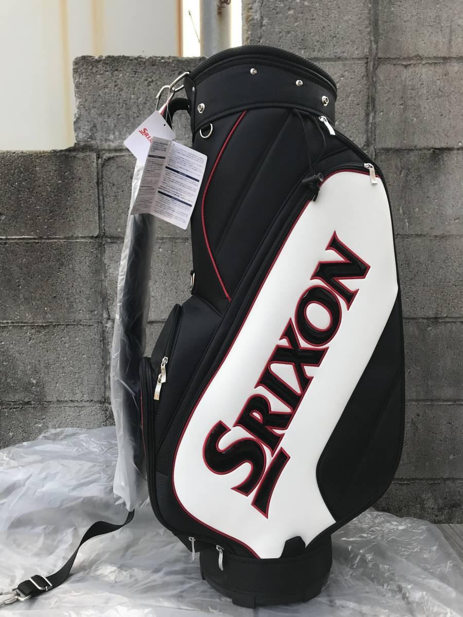 新品 SRIXON(スリクソン) キャディバッグ GGC-S140G ブラック/ホワイト 未使用