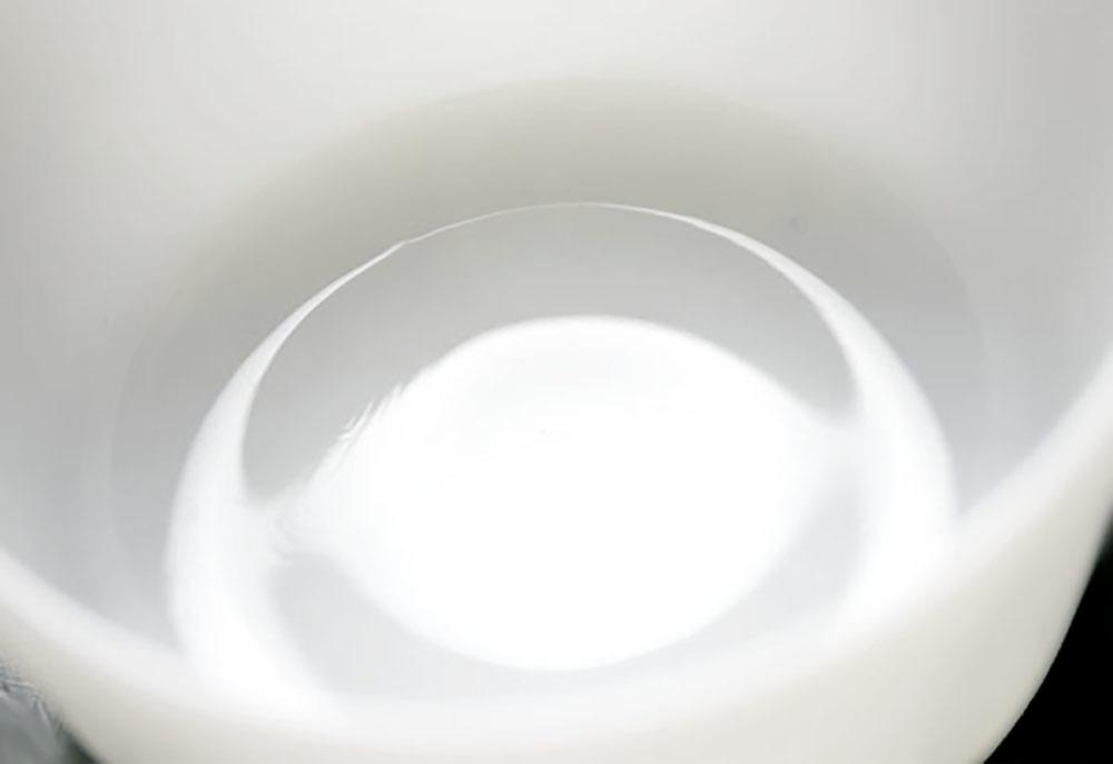 ファイヤーキング カスタードカップ ミルクホワイト 4個セット 耐熱 デザートカップ ビンテージ アメリカ製_画像6